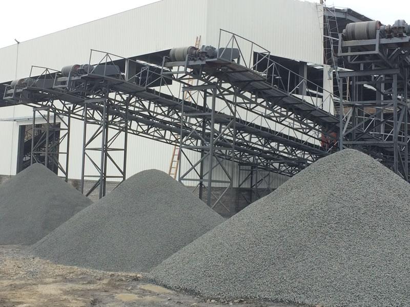 玄武岩砂石生产线承建