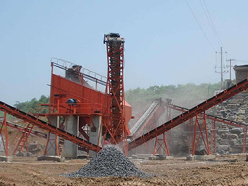 碎石生产线升级