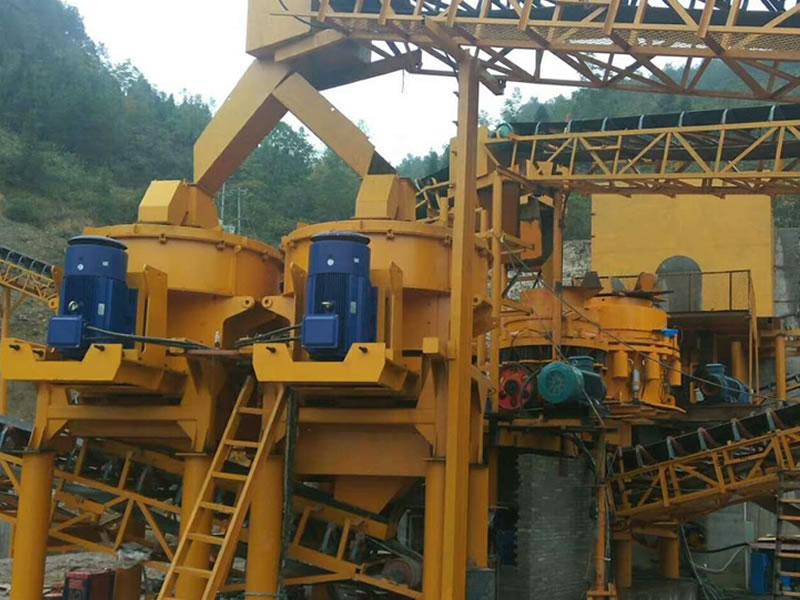 石灰石砂石骨料生产线承建